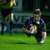 Replacement flanker Sean O'Brien boosted his selection chances with an impressive two-try salvo