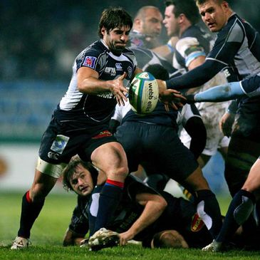 Sebastien Tillous-Borde in action for Castres Olympique