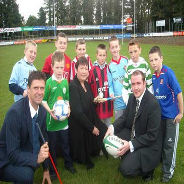 The launch of the Shane Geoghegan Trust