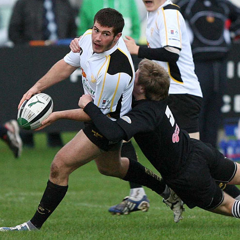Shane Hassett was a try scorer for Young Munster