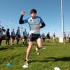 Shane Horgan takes part in a training exercise as the Leinster players go through their paces