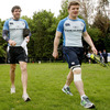 Shane Horgan and Brian O'Driscoll are two of Leinster's most experienced Heineken Cup campaigners, with 158 tournament appearances between them