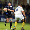 Experienced flanker Shane Jennings gets a chance to stretch his legs, with Clermont Auvergne's Ti'i Paulo lying in wait