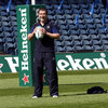 The Leinster squad enjoyed a light run-out at Murrayfield, with Shane Jennings, another Leicester old boy, in jovial mood