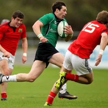 Shane Layden in action for the Connacht U-20s