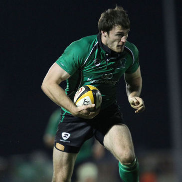 Winger Shane Monahan in action for Connacht