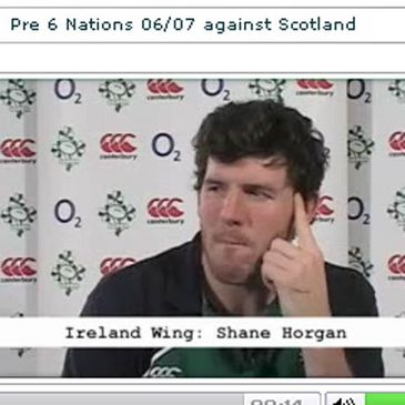 Shane Horgan in the hotseat