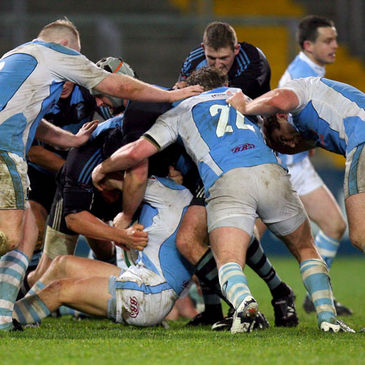 A maul from a Shannon v Garryowen clash last season