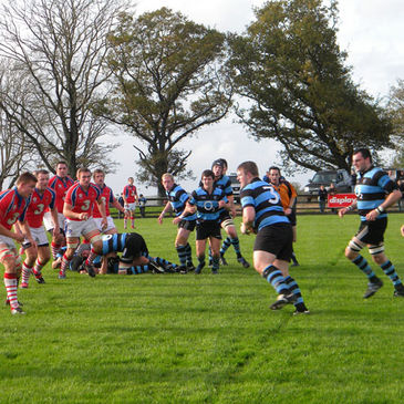 Shannon prop Kevin Griffin in possession at Coonagh