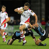 Friday's game marked Scottish winger Simon Danielli's first appearance for Ulster since undergoing shoulder surgery