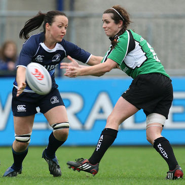 Connacht's Sorcha Ni Chadhain in action against Leinster