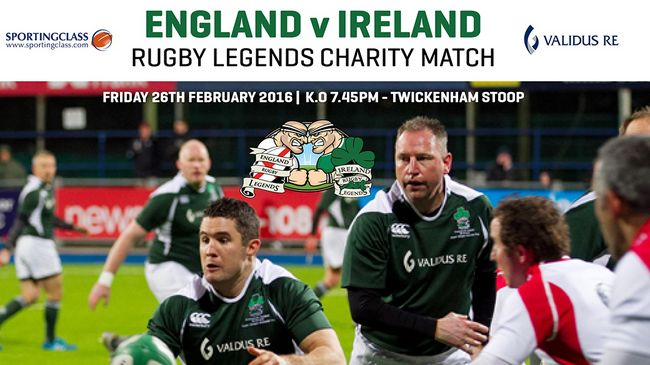 England Legends v Ireland Legends