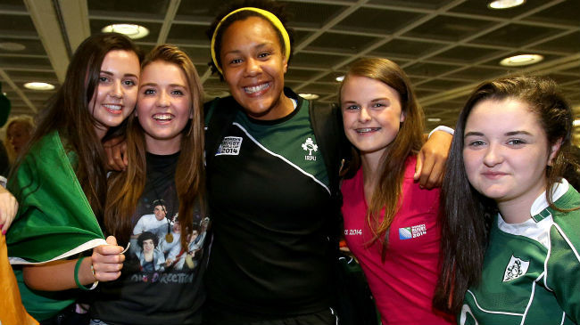 Heroes Welcome For Ireland Women