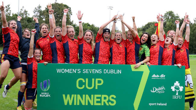 Irish Rugby TV: #Dublin7s Women's Olympic Qualifier Highlights