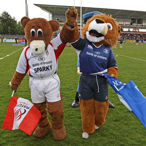 Sparky and Leo will be at Twickenham. Will you?