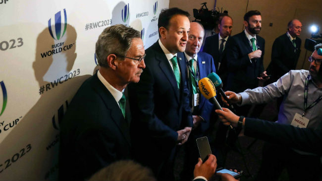 Ireland Reiterates Commitment To Compete For RWC 2023