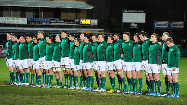 The current Ireland Under-20 squad
