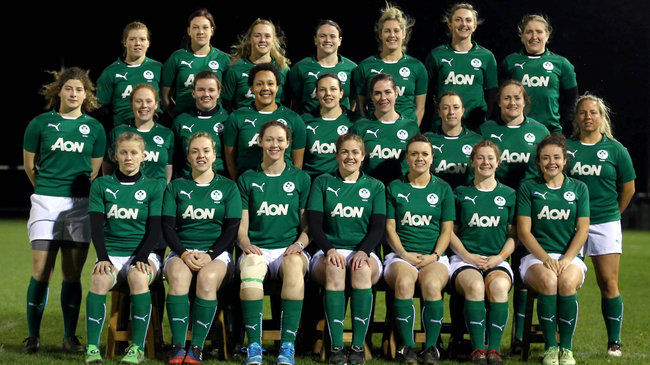 The Ireland Women's squad