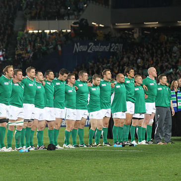 Ireland reached the quarter-finals in New Zealand