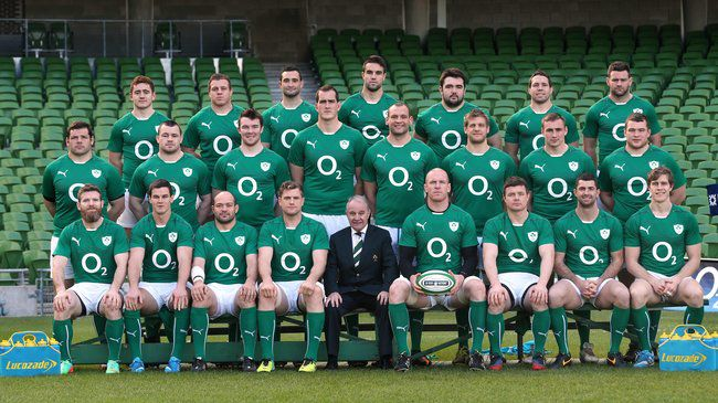 The Ireland squad that will take on Wales