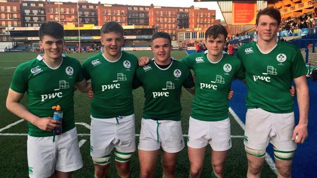Ireland U-18 Schools Squad Determined To End Series 'On A High'