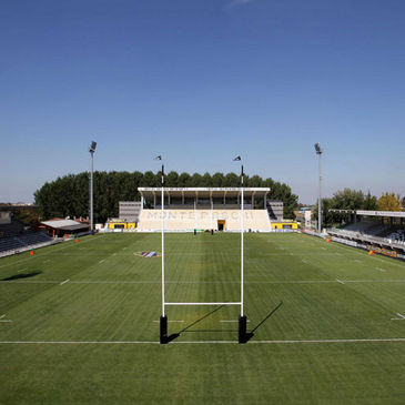 Stadio Zaffanella is the home ground of Aironi Rugby