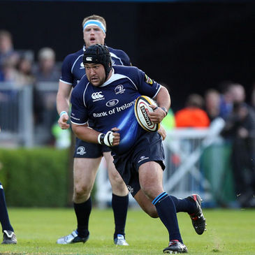 Stan Wright is on the bench for Leinster this weekend