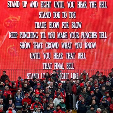'Stand Up and Fight' at Thomond Park