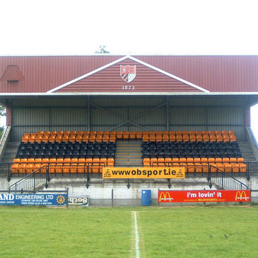 The stand at County Carlow's home ground