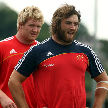 Stephen Archer and Dave Ryan will line out for Munster on Friday