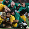 Sean O'Brien, Paul O'Connell and Eoin Reddan followed up on Stephen Ferris' hard work as Ireland won a scrum and pinned Australia back in the closing stages of the first half