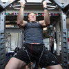 Stephen Ferris tweeted today: 'Early morning weights. Big scores needed for the coming week. Big weights, big gains.'