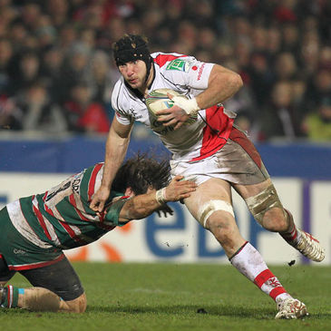 Stephen Ferris in Heineken Cup action for Ulster