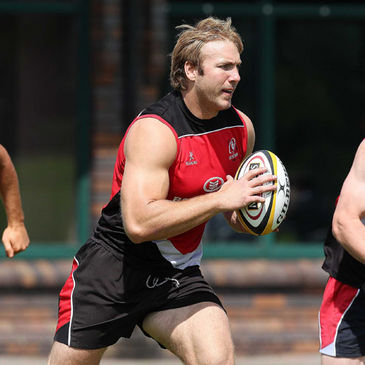 Stephen Ferris training with the Ulster squad