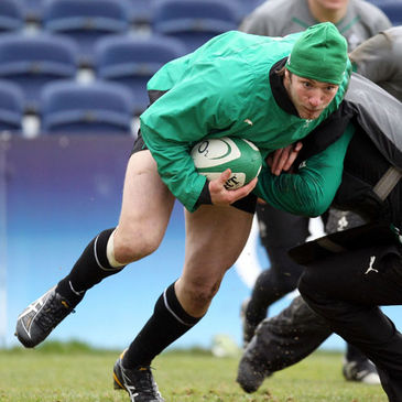 Stephen Ferris returned to training with the Irish squad on Tuesday