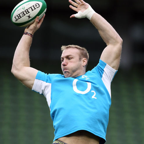 Photos of the Ireland players training on the ever of their Six Nations opener