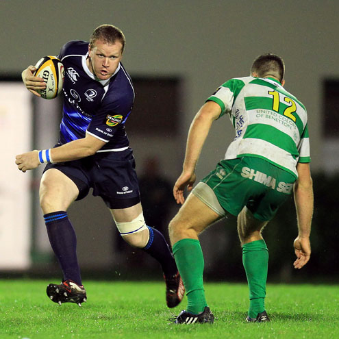 Stephen Keogh in action for the Leinster senior side