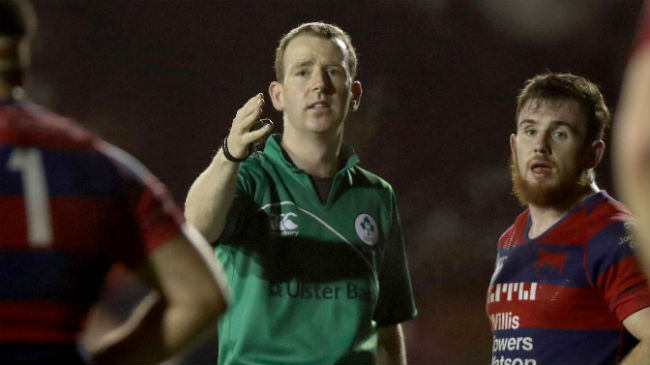 Gaffikin And Gallagher To Referee Ulster Bank League Semi-Finals