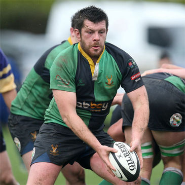 Ballynahinch captain Stuart Lamb