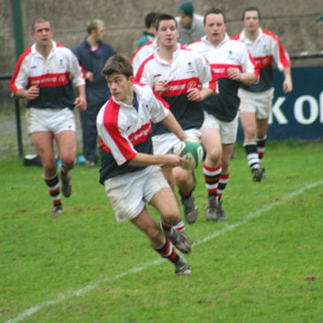 Stuart in Action on-field