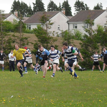 Action from the Summerhill v Garbally game