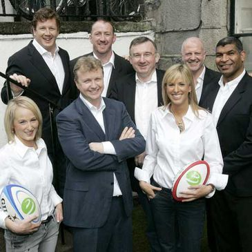 Members of TV3's World Cup team