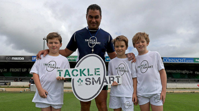 IRFU's TackleSMART Promotes Better Technique For Young Players