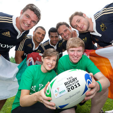 Munster are supporting the Tag Rugby World Cup