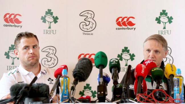 Irish Rugby TV: Ireland Team Announcement Live : Irish Rugby