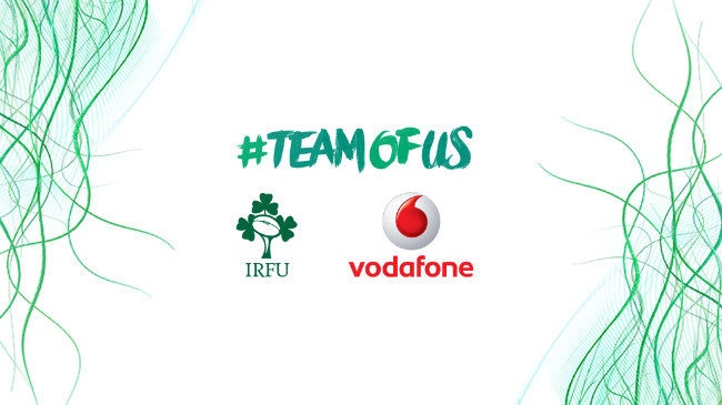 Unveil The New Ireland Jersey With Vodafone