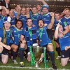 It was all smiles for the Leinster players as the newly-crowned Heineken Cup champions posed for squad photographs