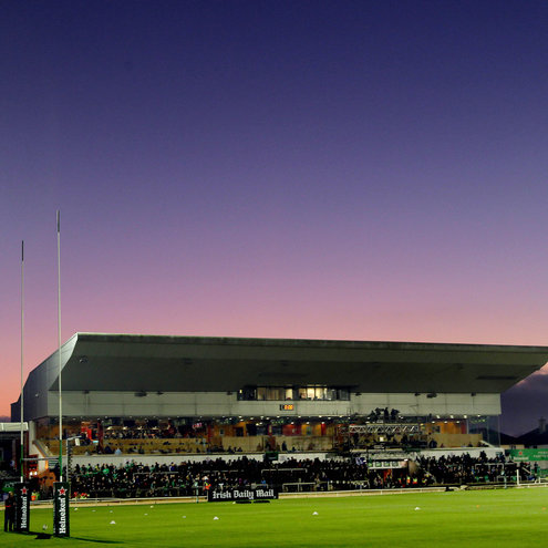 The Sportsground will host the O2 Ireland Wolfhounds next week