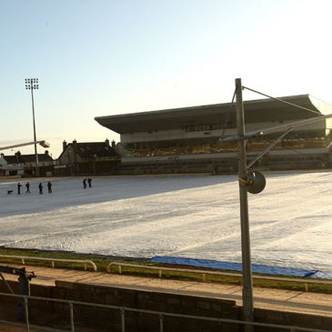 The scene at the Sportsground today