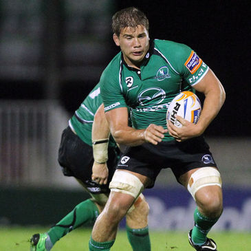 Thomas Anderson in action for Connacht